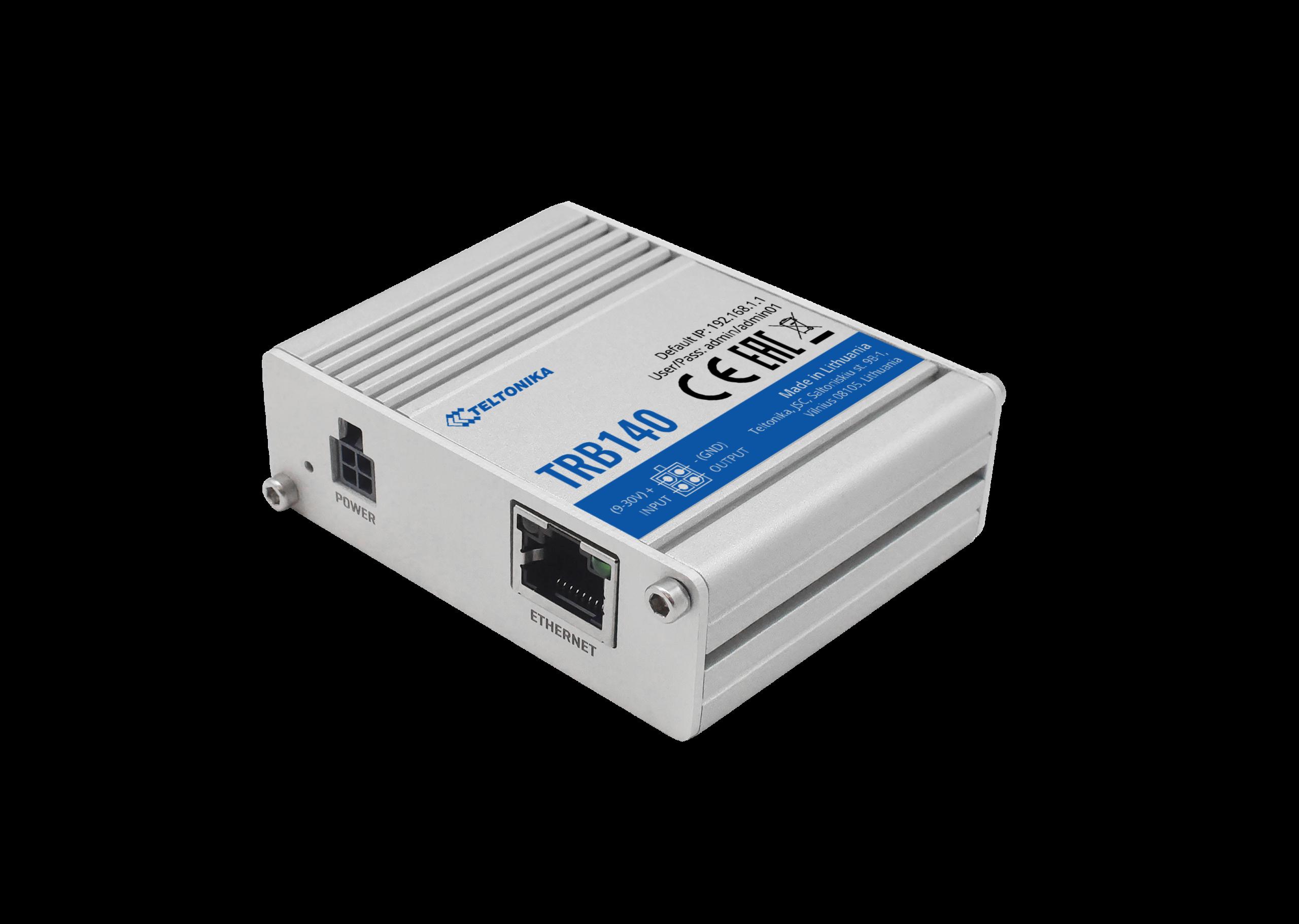 TRB140 – Gateway LTE CAT4 con interfaz Ethernet