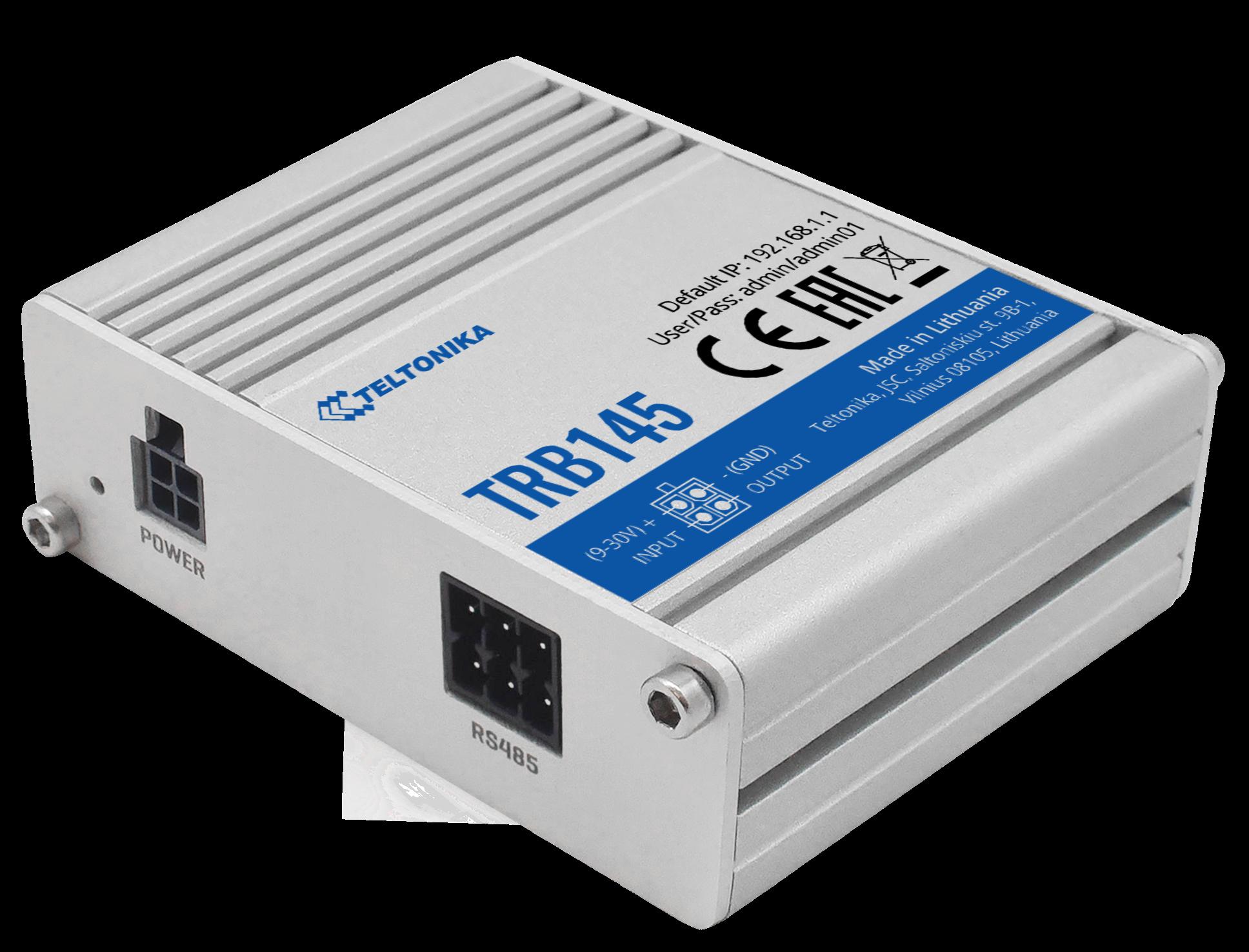 TRB145 – Gateway LTE CAT1 con interfaz RS485