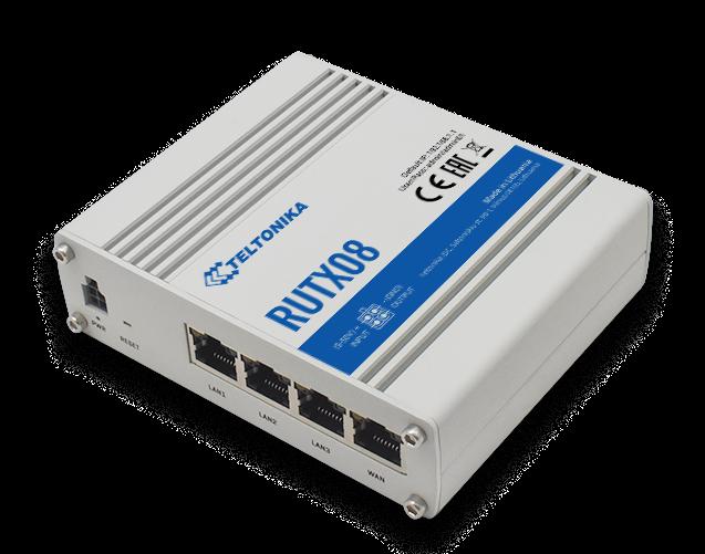 RUTX08 – Router VPN 4xGbE