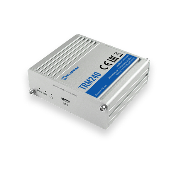 TRM240 – Modem celular industrial 4G/LTE (CAT 1), 3G, 2G